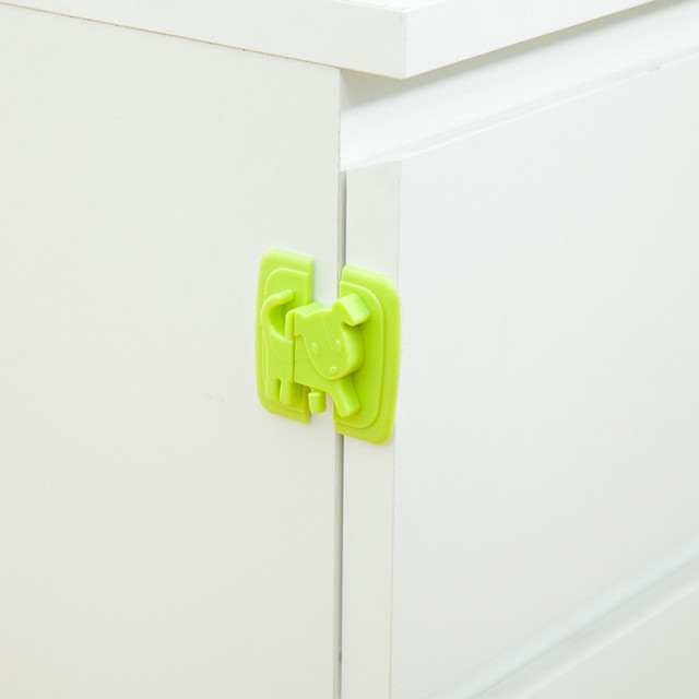 Safety Lock Lock Protects Children's Safety Drawer Door Cabinet Lock 4