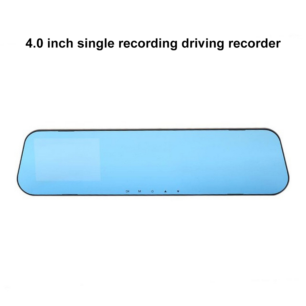 1080P Full HD Blue Mirror 120 Degree Wide Angle 500w Pixel Driving Recorder Digital Video Recorder Monitor Night Vision Camera-in DVR/Dash Camera from Automobiles & Motorcycles