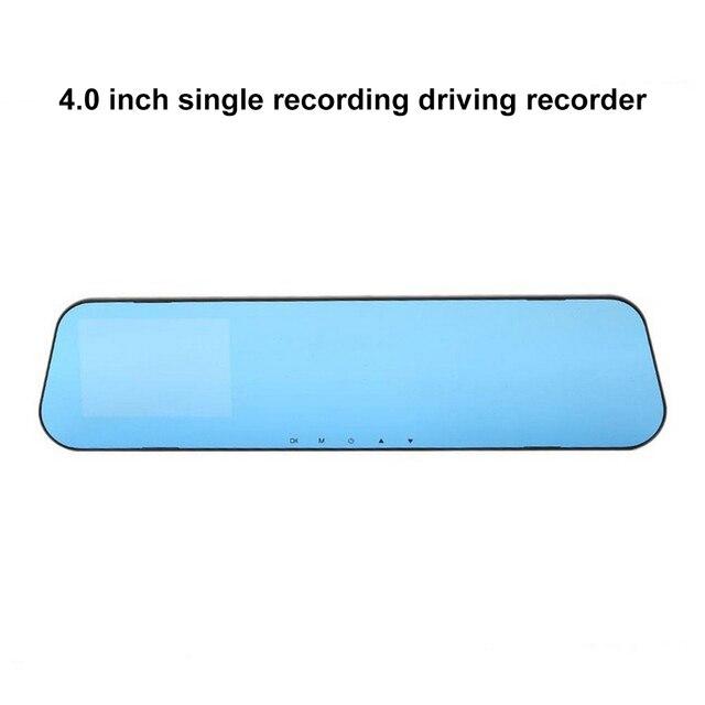1080P Full HD bleu miroir 120 degrés grand Angle 500w Pixel enregistreur de conduite enregistreur vidéo numérique moniteur Vision nocturne caméra