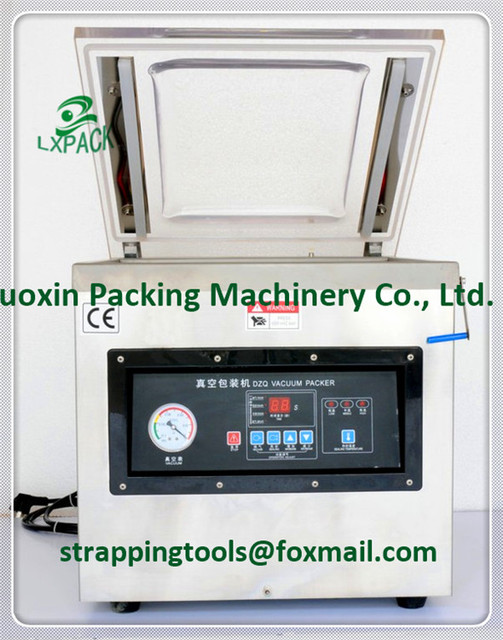 LX PACK Brand Table Top Chamber Vacuum Sealer With Dual Seal Bars Chamber  Vacuum Sealers