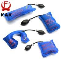 4PCS Blue KLOM PUMP WEDGE LOCKSMITH TOOLS Full Size Auto Air Wedge Airbag Lock Pick Set