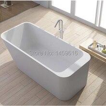 1700x750x550 мм Dino камень твердой поверхности ванной искусственного камня ванной SHIIPING 1004