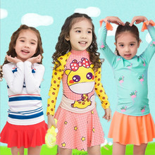 Children's Swimsuit Kids Girls 2018 For Girl Swimming Suit Bathing Suits Baby Clothing Female Child Swimwear Children Princess