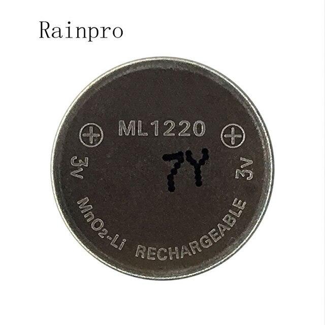 5 шт./лот 3 В литий-ионный Батарея ml1220 1220 аккумуляторная Батарея 3 В монета Батарея