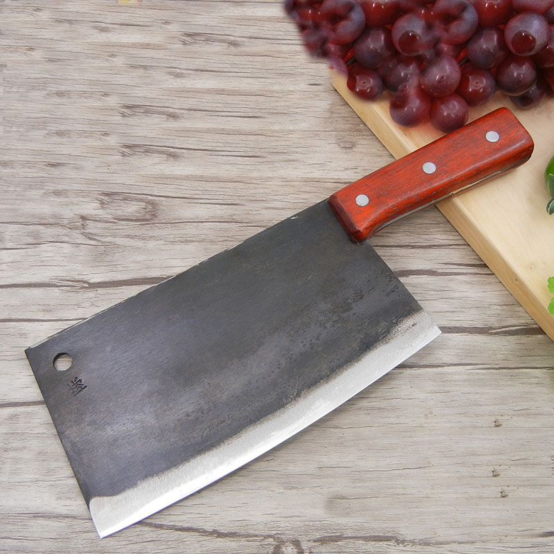 Free Shipping Chef knife Handmade Professional Knife Kitchen Slice Meat Vegetable Multifunctional Knives Forged