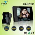 "7""LCD  Color wireless Video door phone door video intercom Doorbell System with night vision Camera monitor"