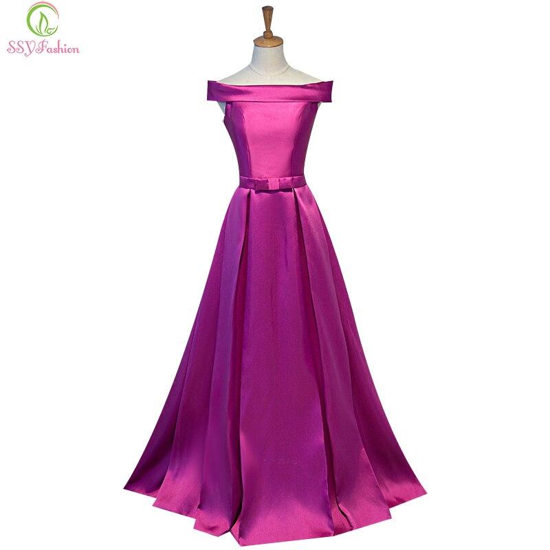 Simple Long Evening Dress