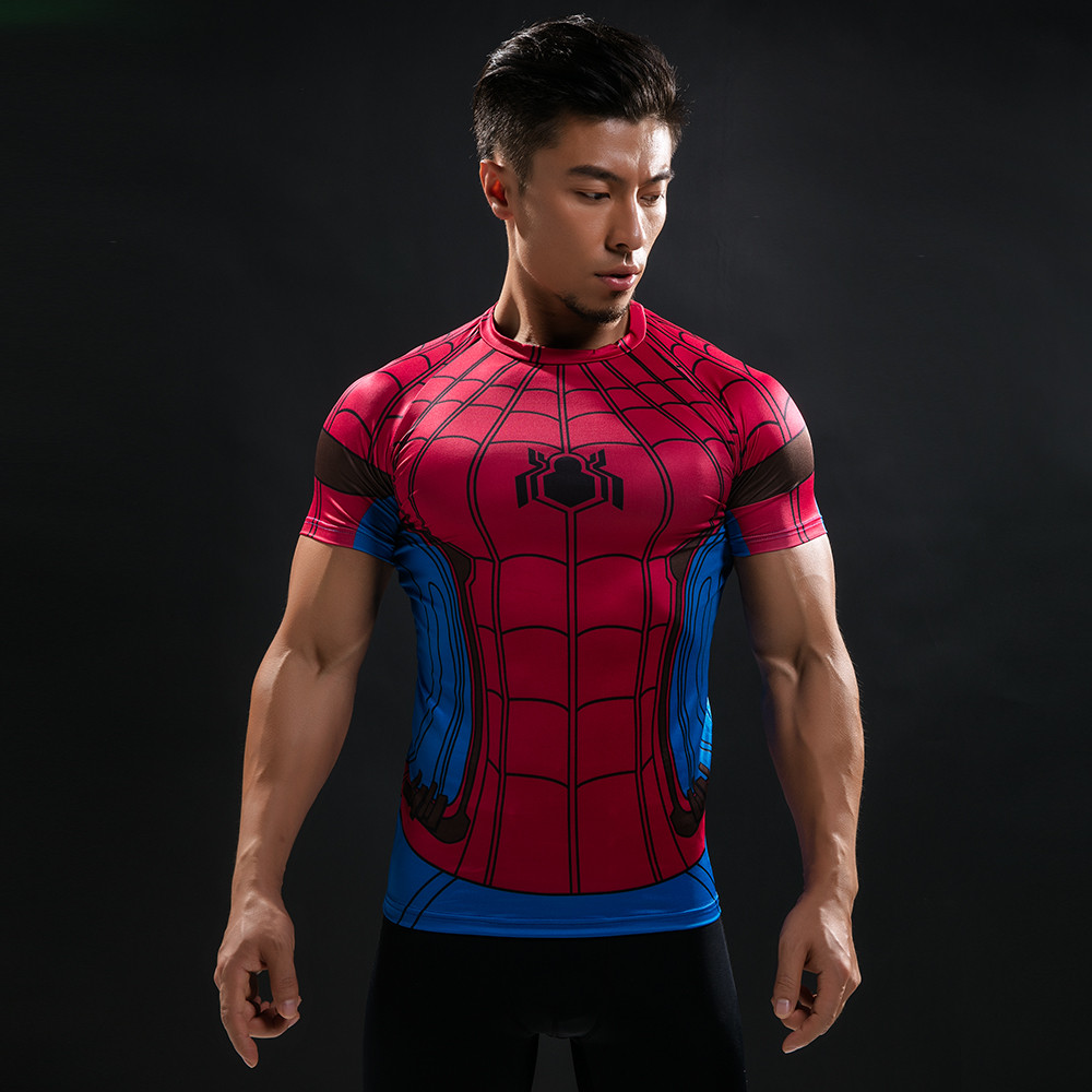 Punisher 3D Printed T-shirts Men Compression Shirts Long Sleeve Cosplay Costume crossfit fitness Clothing Tops Male Black Friday 105