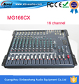 Yamaha Mixer Audio MG166CX 16 channel input with Compression and Effects stage performance wedding 8 channel KTV