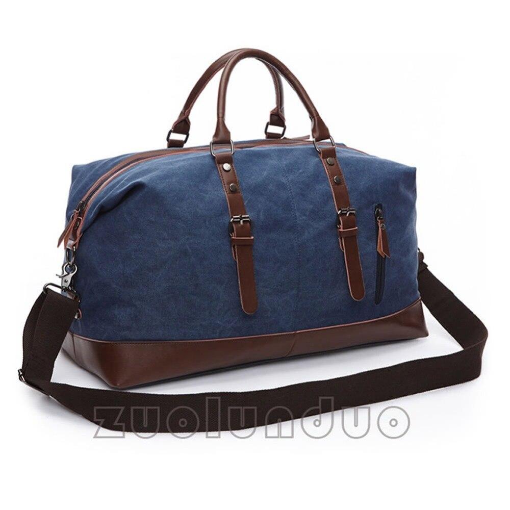 zld couro lona bolsa de Description 1 : Suitcases And Travel Bags