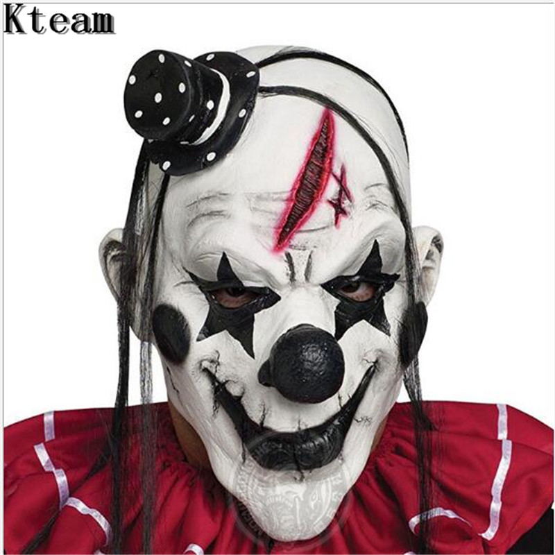 Halloween Fancy Dress Party Mask Red Nose Clown Masquerade Mascaras Lovely BE