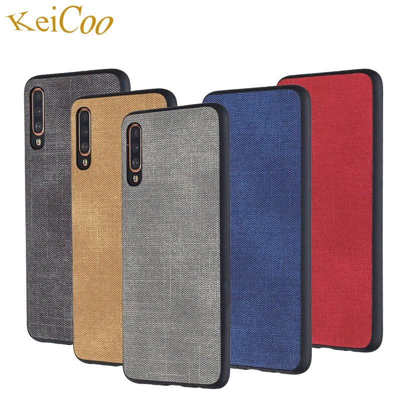 Jeans Texture Series Soft TPU Cases For Samsung Galaxy A6 A7 2018 A10 A20 A30 A40 A50 A70 M10 M20 M30 2019 Case Ultra-thin Cover