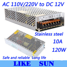 High Quality LED switching power supply LED power supply 12V 10A 120W transformer 100-240V