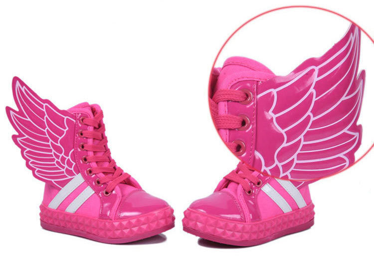 Aliexpress.com : Buy kids shoes fashion sneakers with large angel ...