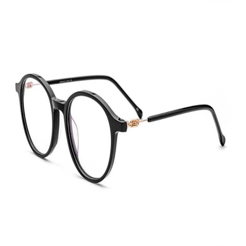 Brillen Mode Presbyopie Mongoten Acetat Lesen Ultraleichte Objektiv Schraubenlose Asphärische strahlung Unisex Vollrand Anti Owqq8PExCS