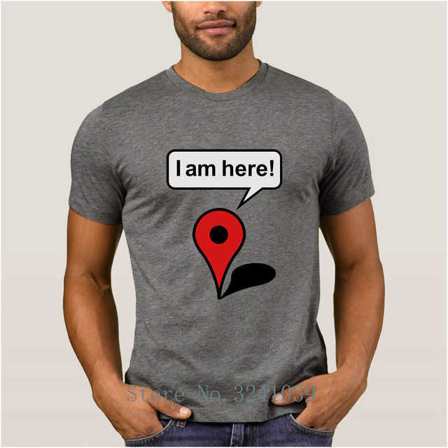 Google maps T-shirt