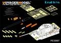 Modelo Voyager 1/35 PE35697 segunda guerra mundial alemão KINGTIGER versão Final ( para TAMIYA / dragão / ACADEMY )