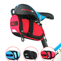 B-SOUL Waterproof Bicycle Saddle Bag Mountain Road Bike Tail Bag Cycling Seat Bag For Bicycle Accessories Black Blue Red