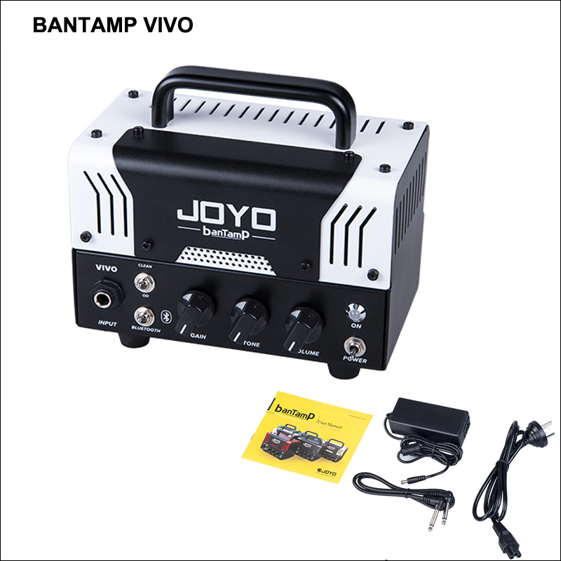 JOYO VIVO Guitar Amplifier banTamP TUBE AMPS w/Bluetooth 4.0 connectivity music playback 20W Small Monsters Head Dual Channel image