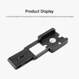 Image 2 - Vamson Accessories for Gopro Hero7 6 5 4 3 Fold Z Type Stand Holder Adapter Tripod Quick Release Plate for DSLR Camera VP419