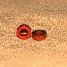 20 قطع micrometals amidon T50 2 مسحوق الحديد حلقي حلقية الأساسية T 50 2 ham qrp
