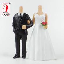 Wedding gift wedding cake topper coulpe personalized custom real doll custom clay dolls fixed resin body SR181