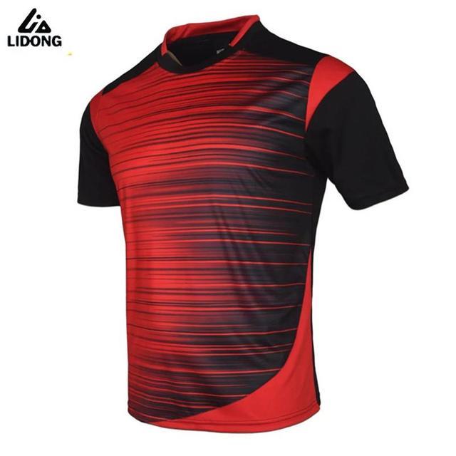 f90635ed57 Homens de alta Qualidade 2017 Camisas De Futebol Tailândia Camisas De Futebol  Camisas Badminton Formação Jogging