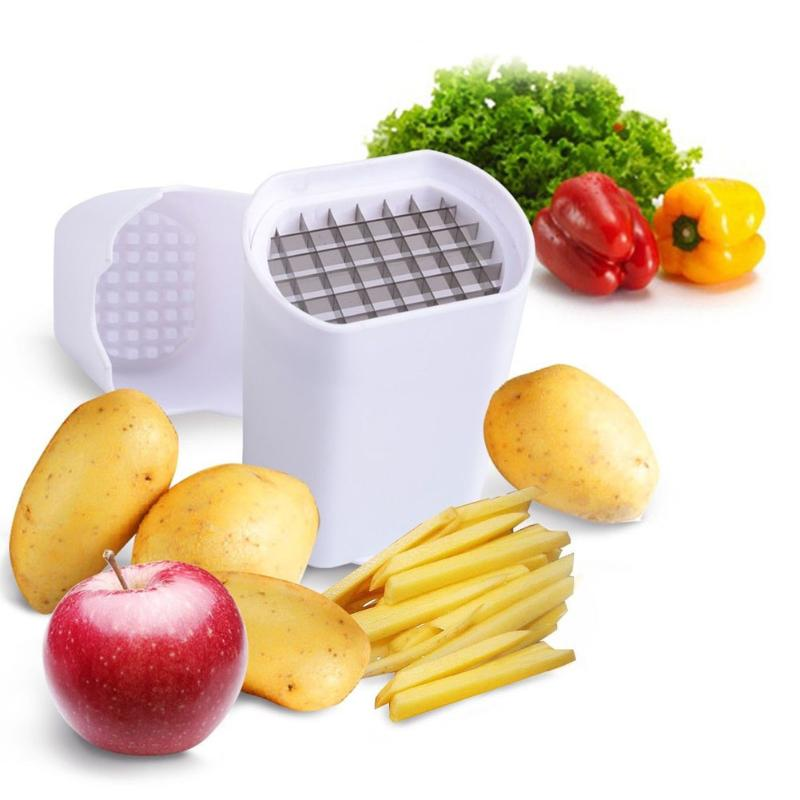 Perfect Fries Potato Chips Natural French Fry Cutter Vegetable Fruit Slicer Multifunctional Strip Cutting Cucumber Radish