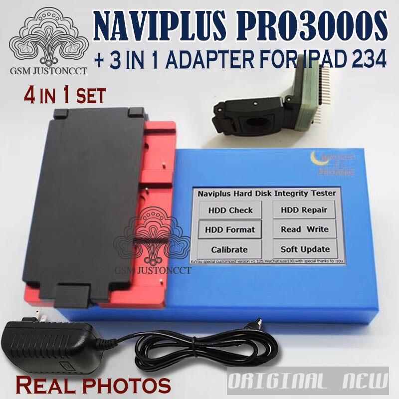 DHLTO Naviplus Pro3000s NAND outil de réparation Pro 3000 S NAND Flash lire écrire programmeur adaptateur pour iPad 2/3/4 5 6 pour iphone6 6 p - 2