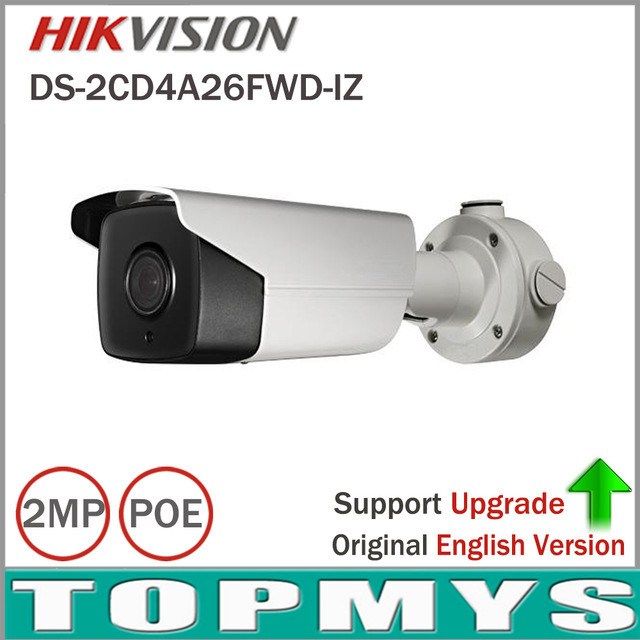 Smart IP Camera DS-2CD4A26FWD-IZ Support Face Dection Object Counting Full HD Low Light Smart CCTV Camera