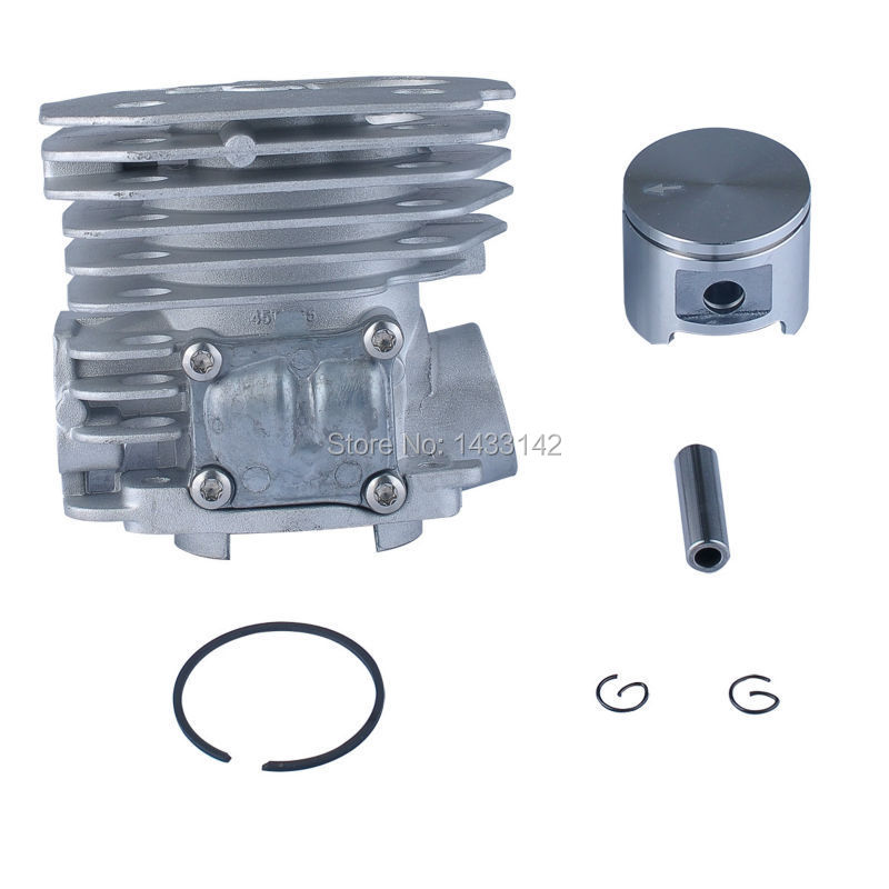 45MM Cylinder Piston Assembly Kit Fit HUSQVARNA 353 351 350 346 537253002 New changchai 4l68 engine parts the set of piston piston rings piston pins