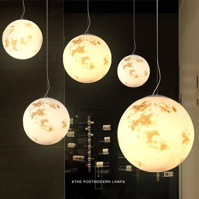 Resin handmade painting moon hanging lamps dining room Cosmic planet design lamp pendant lighting Milky Way Planet droplightResin handmade painting moon hanging lamps dining room Cosmic planet design lamp pendant lighting Milky Way Planet droplight