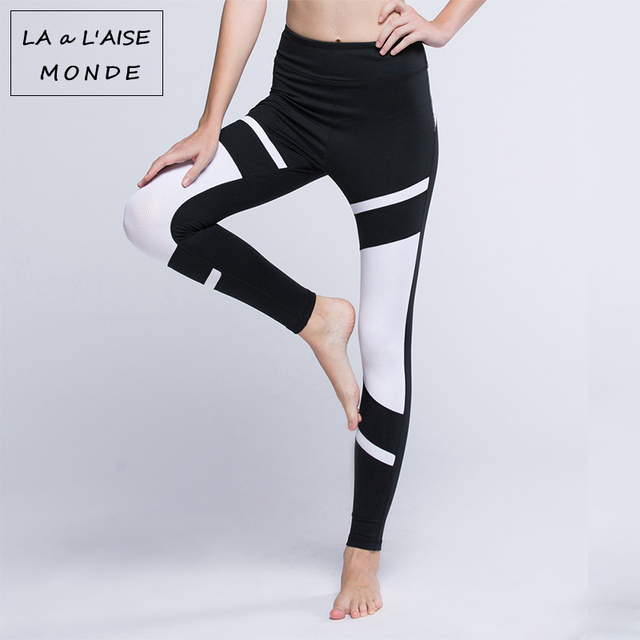 5cf0649b7e Woman Moto Yoga Pants Leggings Printed Running Leggins Sport Women Fitness  Gym Sportswear Sports Wear For Athletic Activewear