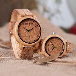 Image 2 - BOBO VOGEL M12 Bambus Holz Quarzuhr Für Männer Und Frauen Armbanduhren Top Marke Luxus Mit Japan Bewegung Als Geschenk