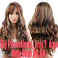 Women's Wigs From Natural Hair Wigs For Black Women Long Curly Chap Hair Synthetic Female Wig