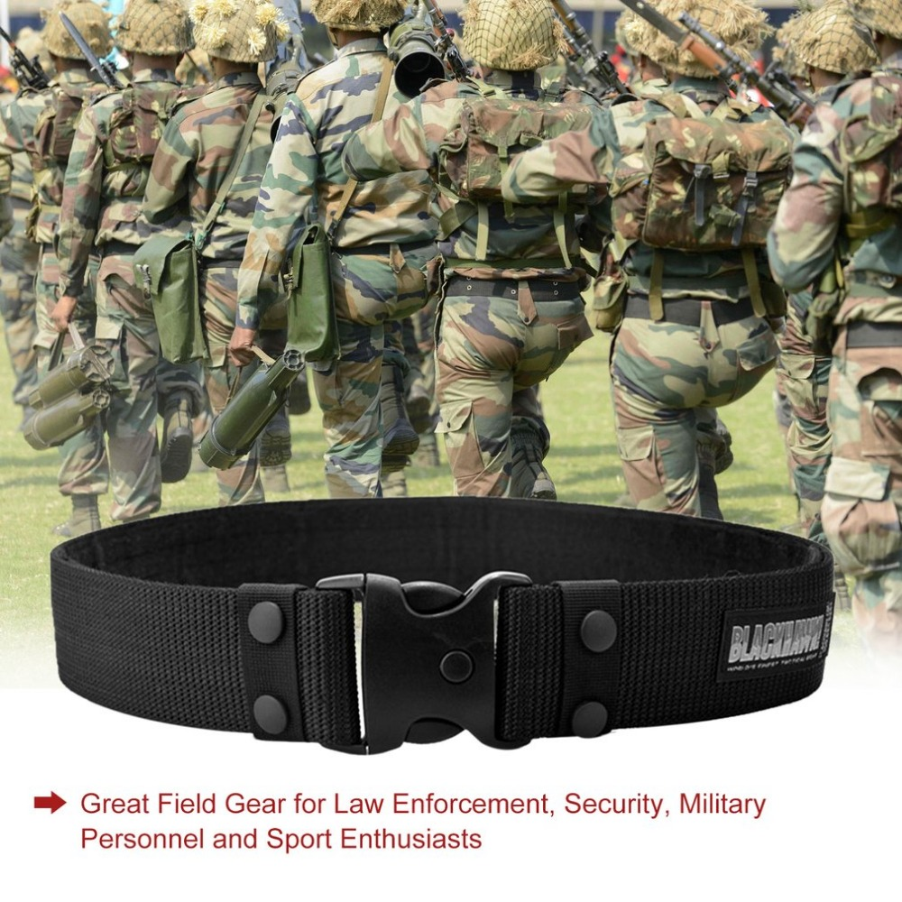 New Arrival Adjustable Sport Tactical Belt Combat Rigger Militaria Military Waistbelt For long-lasting With three Colors