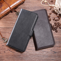 Genuine Leather For Asus ZenFone 5 Lite ZC600KL ZC 600KL Luxury Case Wallet Flip Retro Soft