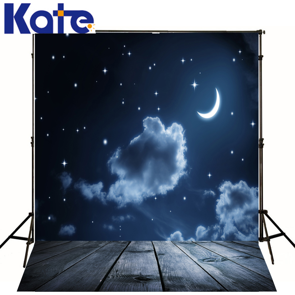 Photography Background Night Starry Sky Moon Photography Backdrops Children Doomsday Pterosaur For A Photo Shoot putti starry night 120x60 8 предметов