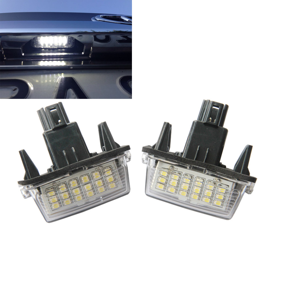2pcs LED License plate light fit Toyota yaris (2012~) Camry (2013 ...