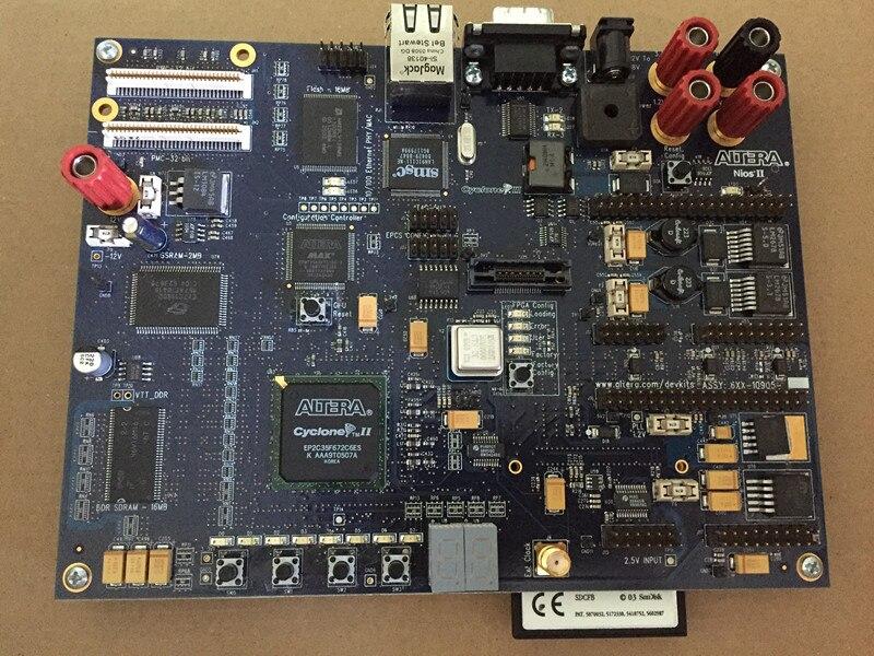 ALTERA Original FPGA Development Board NIOS-DK-2C35 Cyclone II EP2C35 DDR Ethernet