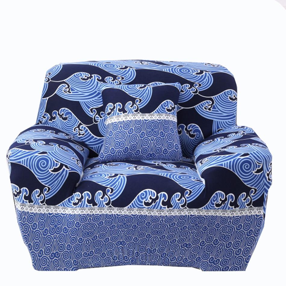 Blau Luxus Ecke Sofa Covers Universal Stretch Mbel Abdeckungen Fr Wohnzimmer Mehr Grsse Couch Hussen