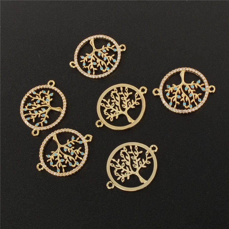 High Quality Silver Color Tree of life Necklace Pendant Replace  Pendants (5)