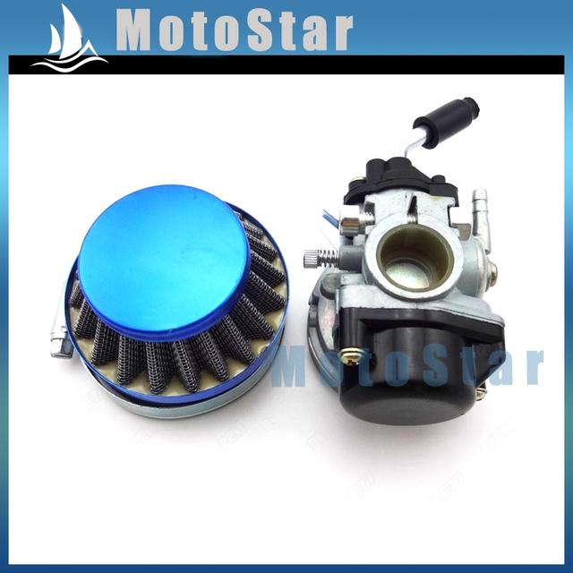 Performance carburetor 58mm blue air filter for 49cc 50cc 60cc performance carburetor 58mm blue air filter for 49cc 50cc 60cc 66cc 80cc 2 stroke engine fandeluxe Gallery