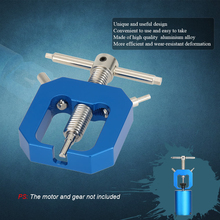 Blue Gear Bearing Puller Extractor Tool Durable Full Metal Motor Aluminum Alloy 56mm For 1/10 HSP HPI Truck Remote Control Car alloy bearing extractor tool d2 d14 for rc model car truck