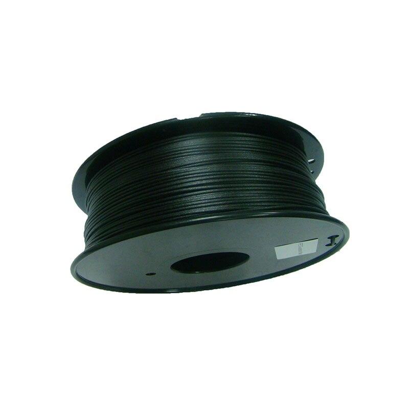 Mélange chaud de Fiber de carbone de Filament de PETG de vente 0.8 kg 1.75mm Filament d'impression d'imprimante 3d de Filament d'impression de haute résistance