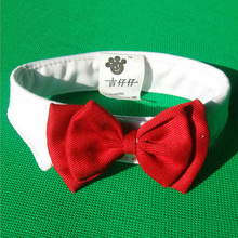 Hot Wholesale Pet Supplies Red Colors Cats Dog Tie Wedding Accessories Dogs Bowt