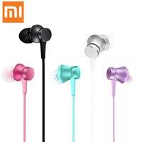 100 Original Xiaomi Earphone In Ear Earphones Piston Basic Version Colorful Earphones With Mic For Mobile