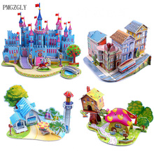 Puzzle Brand New Baby Kid Wooden Game 3D Jigsaw Puzzle Toy Interesting Baby Children Educational Puzzles Toy Gift Puzzle