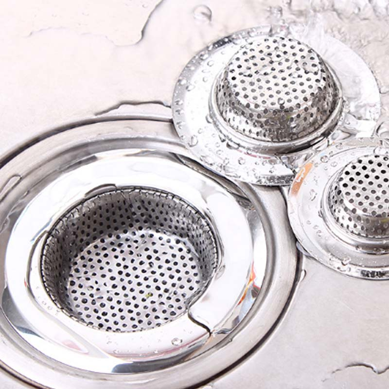 Sink Strainer Shower Sewer Outfall Anti-blocking Floor Drain Hair Stopper Catcher Kitchen Accessories Bathroom Accessories