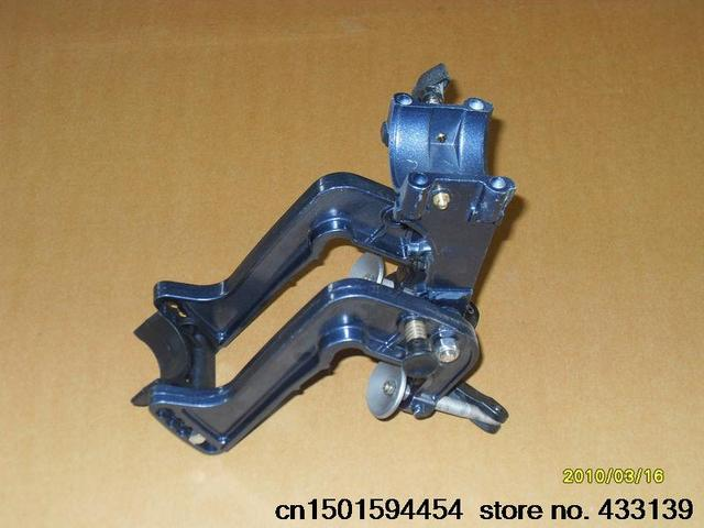 Free shipping Hangkai 2 stroke 3.5 hp outboard motor/outboard/boat/aft machine/bracket a full set